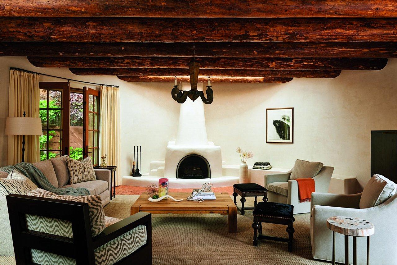 Santa fe style interior design - Art And Style In Santa Fe